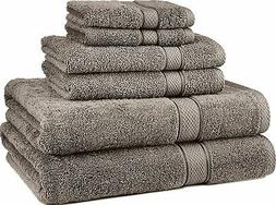 NEW! Egyptian Cotton Towel Set 725 Gram 6 Piece Sets Kitchen