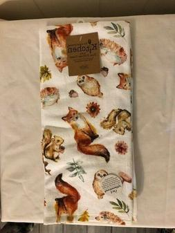 New Kay Dee Designs Fall Kitchen Towels Foxes, Owls, Squirre