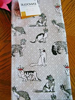 New French Country Royal Kitty Cats w/Crowns Cat Lady Kitche
