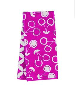 New Ritz Graphic Printed Microfiber Kitchen Towel Set Pink 4
