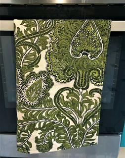 New Handmade 100% Linen Flax Fabric Kitchen Tea Hand Dish To