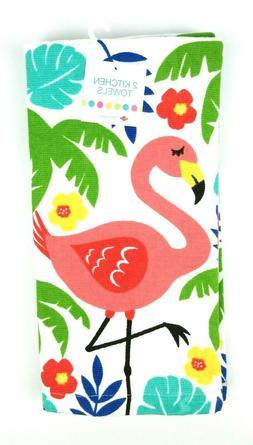 NEW Ritz Kitchen Dish Towels 100% Cotton Summer Tropical Fru