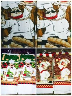 2 New Kitchen Towels Chef Designs You Choose Design Fat Chef