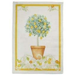 """NEW ~ Sur la Table """"Lemon Tree"""" Kitchen Towels ~ Set of 2 ~"""