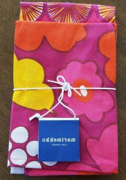 NEW Marimekko Target Kitchen Towels Set of 2 Kukkatori & App