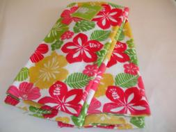 New! S/2 Lucky Ladybugs Daisy Flowers Kitchen Dish Towels Ha