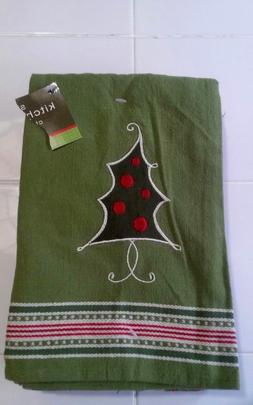 NEW Set Of 5 DII Oversized  Christmas Kitchen Towels 28x18""