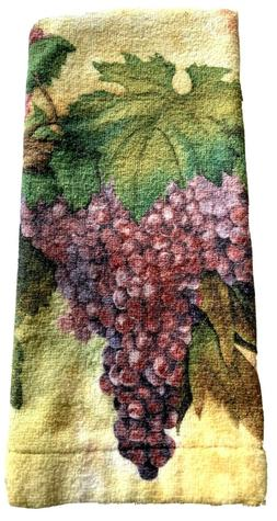 "NEW STORED great quality Kitchen Towel Grapes -15.5"" X 24""-n"