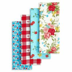 New The Pioneer Woman SWEET ROSE Kitchen Towels Bar Towels