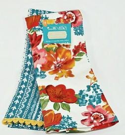 new the pioneer woman wildflower whimsy towels