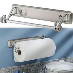 New York Kitchen Wall-Mount Paper Towel Holder, Stainless St