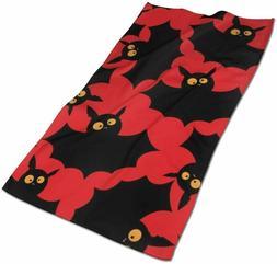 NOT Halloween Bats Kitchen Towels - Dish Cloth - Machine Was