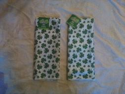 NWT 2 Kitchen Towel St.Patricks  Day  Print  Shamrock Towels