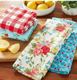 NWT The Pioneer Woman Sweet Rose 🌹Kitchen Towels Set of 4