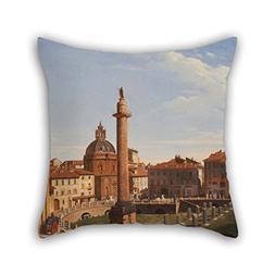 The Oil Painting Charles Lock Eastlake - A View Of Trajan's