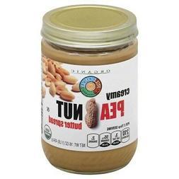 Full Circle Organic Creamy Peanut Butter Spread