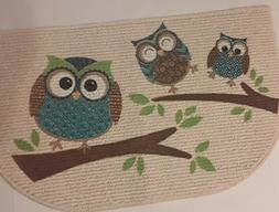 NEW LOOK-OWL PATTERN-7 PIECE KITCHEN TOWEL SET-2 DISH TOWELS