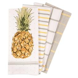 pantry pineapple kitchen dish towel