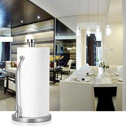 Paper Towel Holder Stand, Adoric Stainless Steel Paper Towel