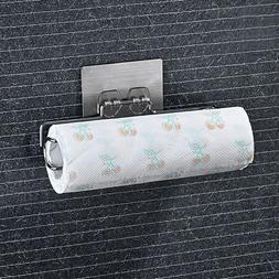 paper towel roll holder kitchen wall mount
