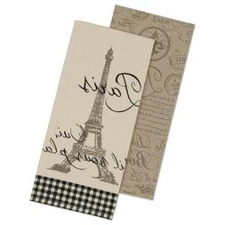 DII PARIS Cotton Decorative Oversized Towels Perfect for Eve