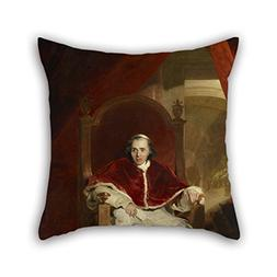 Pillowcover Of Oil Painting Sir Thomas Lawrence - Pope Pius