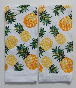 Pineapple Kitchen Towels - Set of 2
