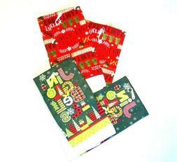 Christmas House Printed Microfiber Snowflakes Kitchen Towels