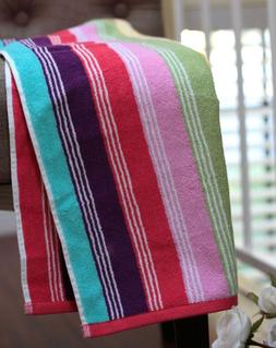 Rainbow Terry Cloth Towels Kitchen hand Towels Cotton Absorb
