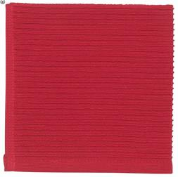 Now Designs Red Ripple Dishcloths Set of 2
