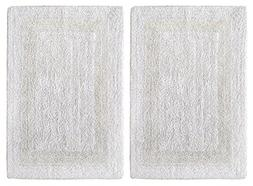 Cotton Craft 2 Piece Reversible Step Out Bath Mat Rug Set 21