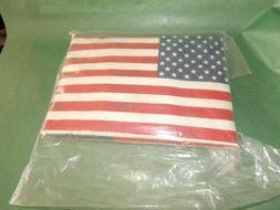 "FLOUR SACK KITCHEN TOWELS  AMERICAN FLAG PACKAGE OF 2 30"" X"