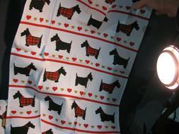 Scotty Dog Tea Dish Kitchen Towels + Loop - THREE DIFFERENT