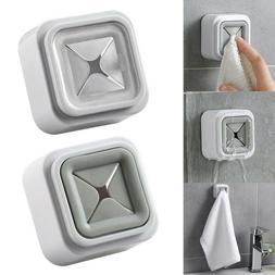 Self Adhesive Wall Mounted Towel Holder Hanger Kitchen Bathr