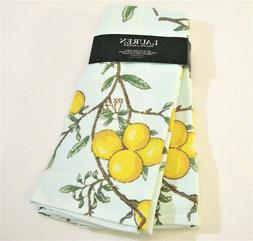 Set/2 Ralph Lauren Cotton Terry Back Kitchen Tea Towels Lemo