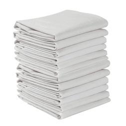 set of 12 flour sack white kitchen
