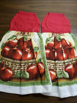 Set of 2 Handmade Hanging Kitchen Towels