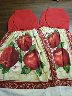 Set of 2 Handmade Hanging Kitchen Towels