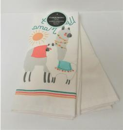 "Cynthia Rowley Set of 2 Kitchen Tea Dish Towels ""I Love my M"