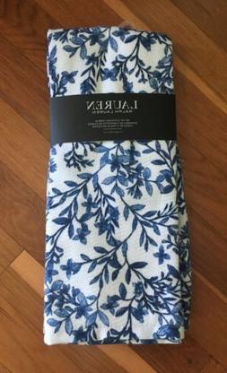 Ralph Lauren Set Of 2 Kitchen Towels Kitchen Dish Blue White