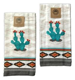 Set of 2 SOUTHWEST CRAZE Terry Kitchen Towels by Kay Dee Des