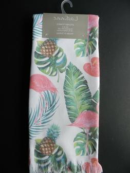 Ladinne Set of 2  Kitchen Towels 100% Turkish Cotton Tropica