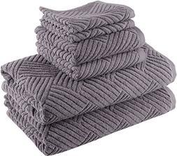 Smyrna Basket Weave Design 100-percent Luxury Turkish Cotton