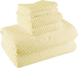 Smyrna Basket Weave Design 100-percent Luxury Turkish Cotton