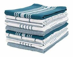 KAF Home Soho Kitchen Dish Towel Set of 10 | 18 x 28 Inch Te