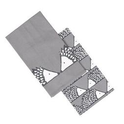 spike set 2 tea towels dark grey