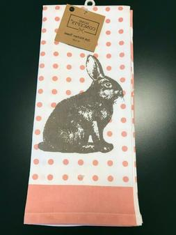 Home Concepts Bunny 2 Pack Kitchen Towel Set New With Tags