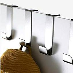 stainless steel over door hooks