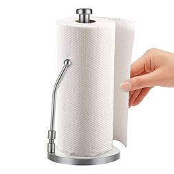 Standing Paper Towel Holder Storage in Vertical Weighted Bas