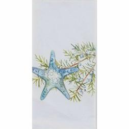 Starfish Ocean Tide Coastal Flour Sack Cotton Kitchen Guest